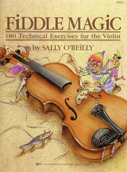 fiddle magi for violin by oreilly sally book