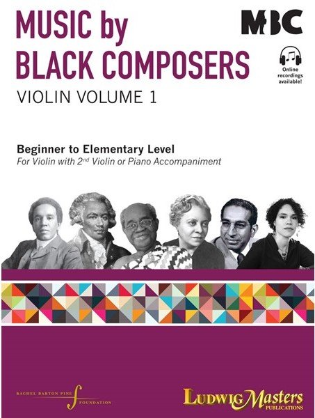 music by black composers by rachel barton pine violin book