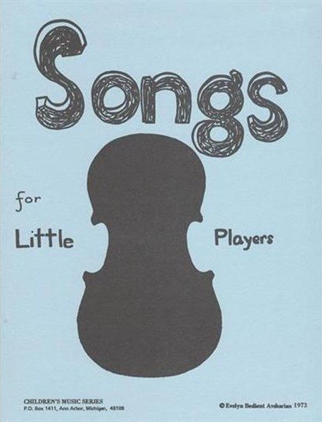 songs for little players book